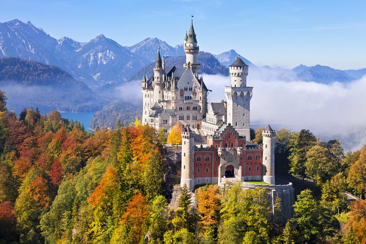 """A TRIP TO THE """"ETERNAL CITY"""" OR BAVARIAN CASTLES FOR LESS THAN 200 EUROS"""