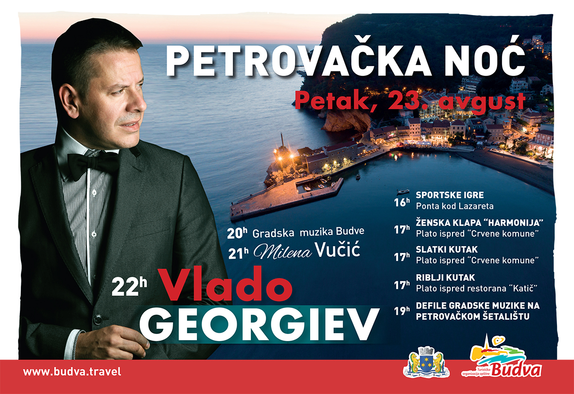 "VLADO GEORGIEV ZVEZDA VEČERI ""PETROVAČKE NOĆI"""
